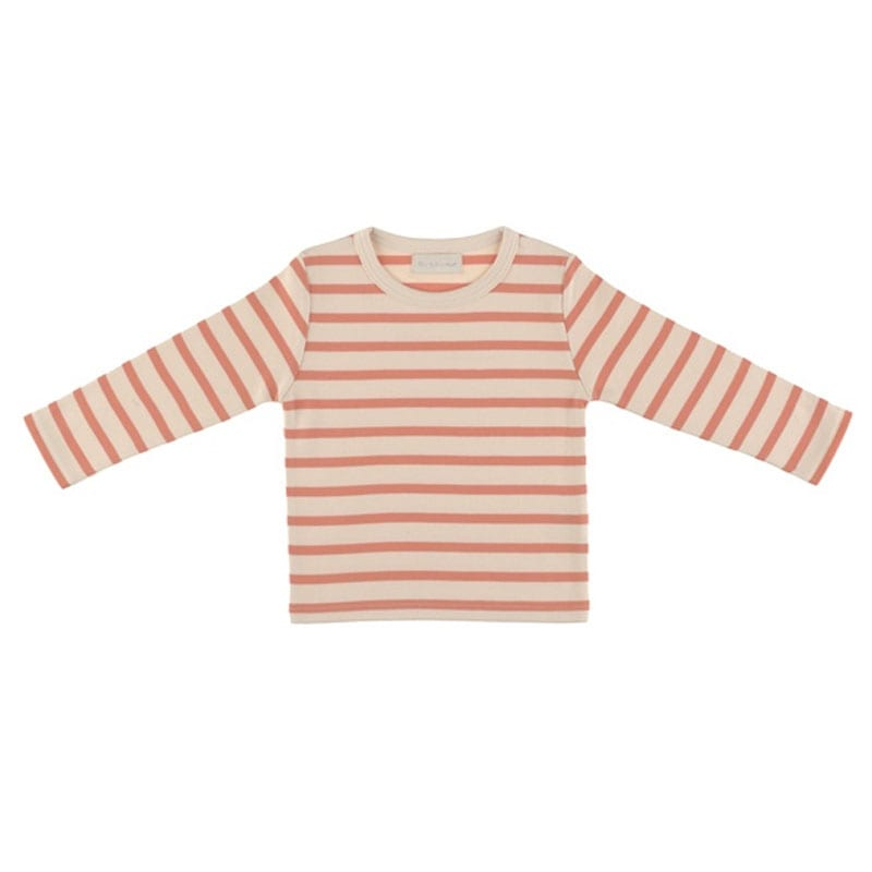 Breton T Shirt Peaches & Cream