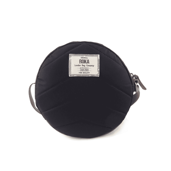 Vegan Roka Paddington Cross Body Bag reverse black