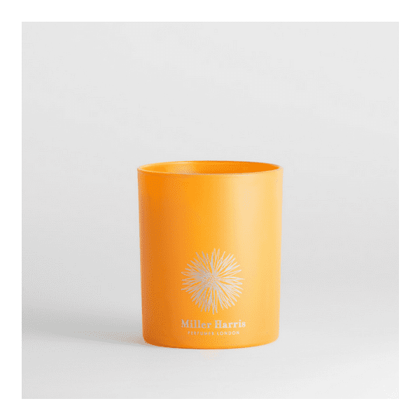 Miller Harris Luxury Scented Candle Tangerine Vert