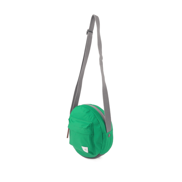 Vegan Roka Paddington Cross Body Bag leaf green long shot