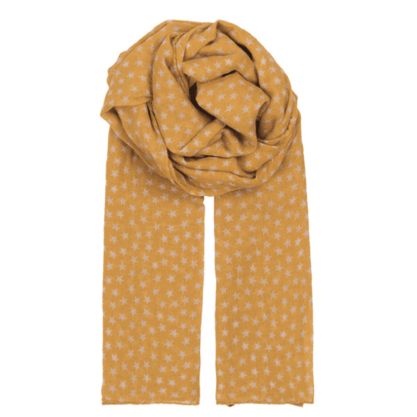 Beck Sondergaard summer star scarf in yellow