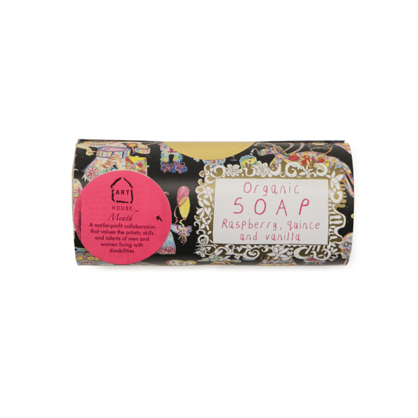 Arthouse Unlimited Organic Soap raspberry quince and vanilla