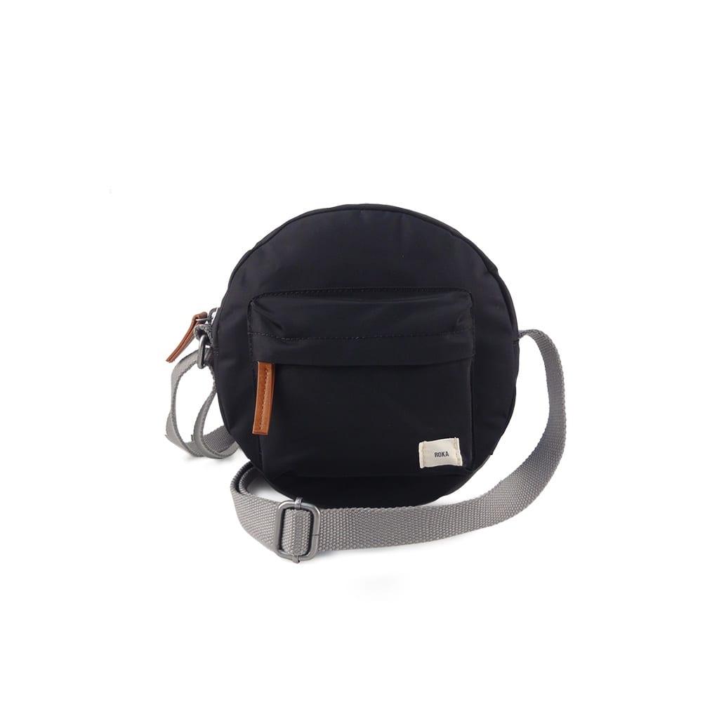 Vegan Roka black Paddington Cross Body bag