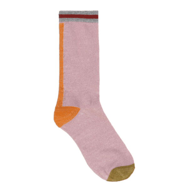 Beck Sondergaard dalea Lurex Socks in rose