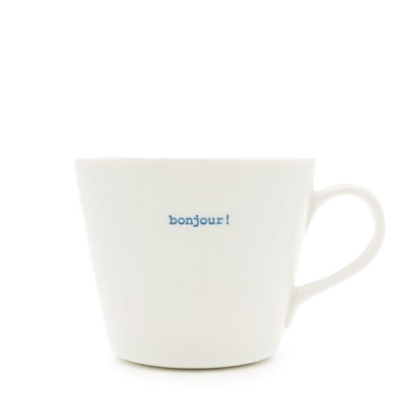 Keith Brymer Jones Bucket Mug bonjour!