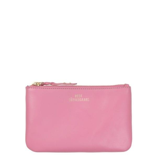 Beck Sondergaard leather Lyla purse sachet pink