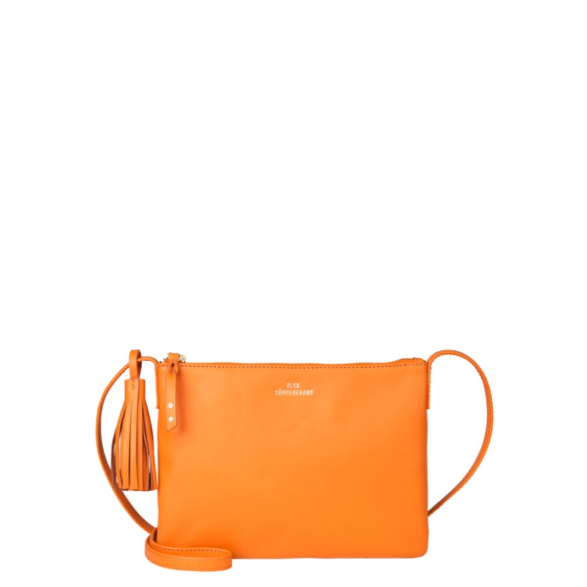 Beck Sondergaard Lymbo Leather Bag in orange
