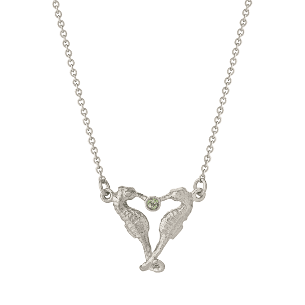 luxury jeweller Alex Monroe Seahorse companion necklace
