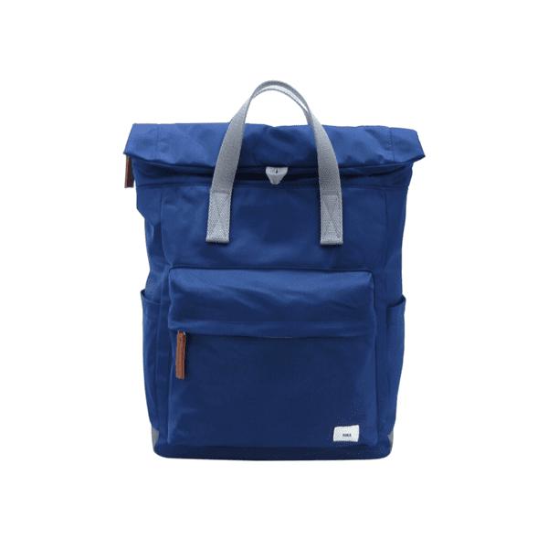 Roka Canfield b Medium rucksack in ink blue