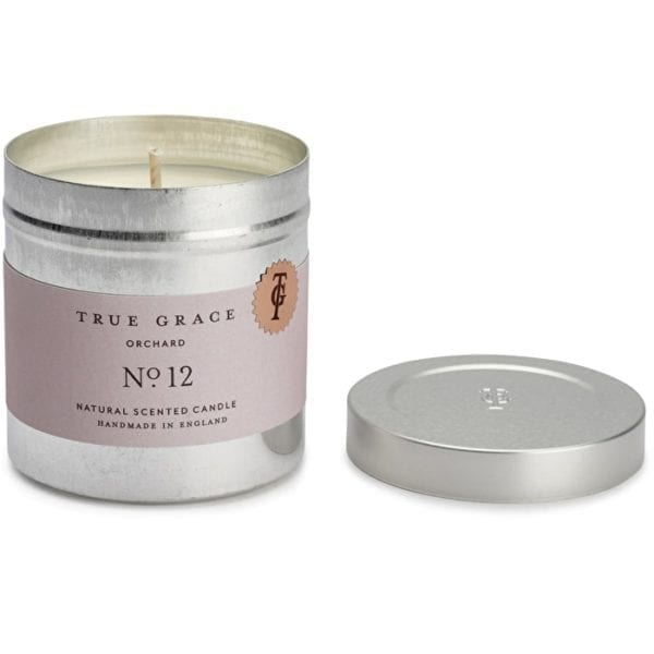 True Grace walled garden lidded scented candle orchard