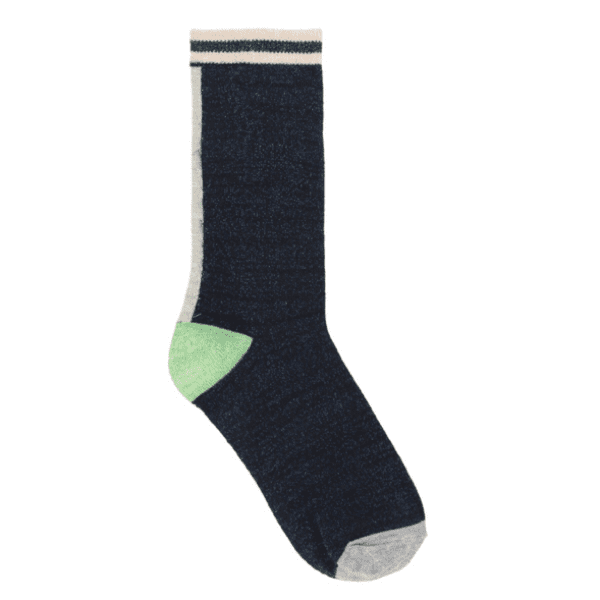 Beck Sondergaard Lurex Dalea Socks in blue nights