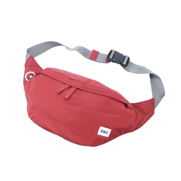 Roka Bum Bag in brick red