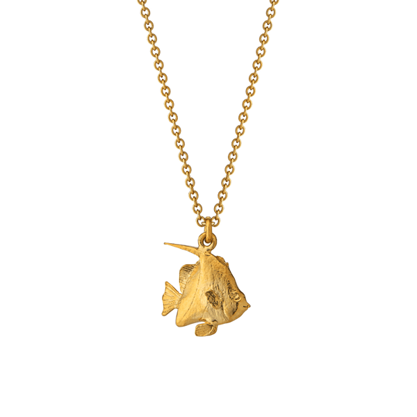 Luxury Jeweller Alex Monroe Angelfish necklace