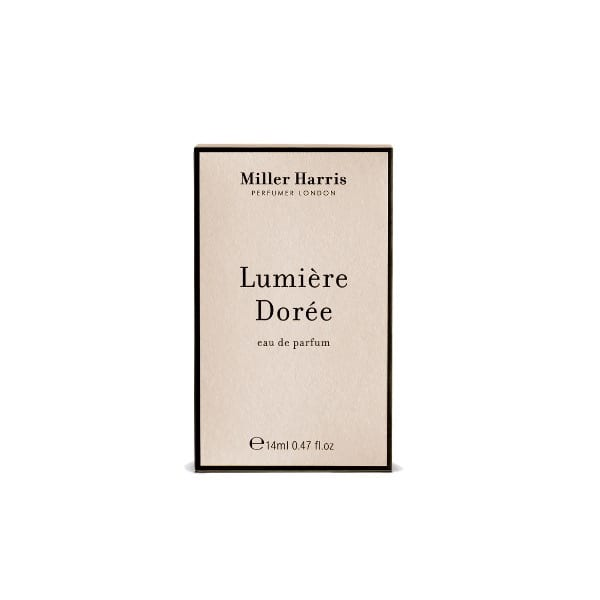 Miller Harris luxury perfume Lumiere Doree