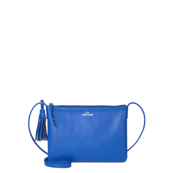 Beck Sondergaard Lymbo Leather Bag in dazzling blue