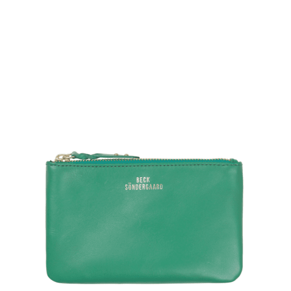 Beck Sondergaard leather purse in summer green