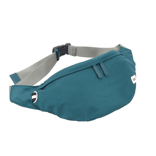Roka Bond Bum Bag in Teal
