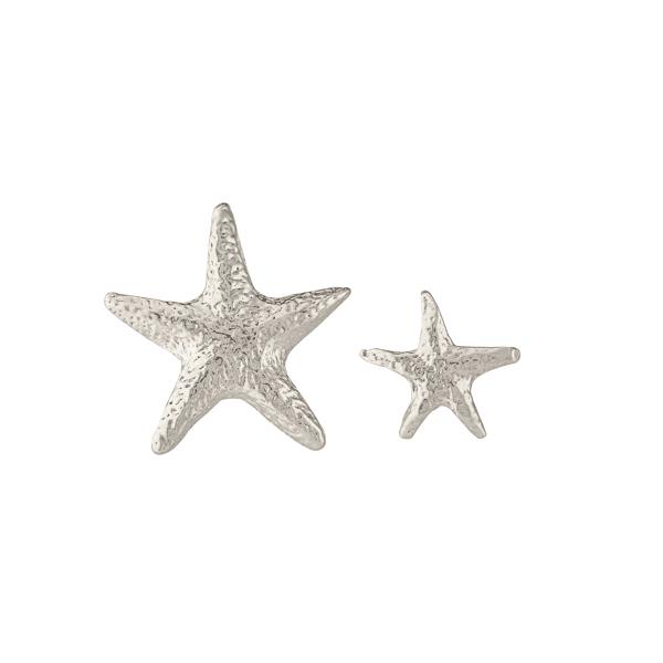 luxury jeweller Alex Monroe starfish stud earrings