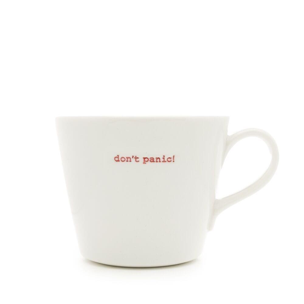Keith Brymer Jones 'Don't Panic!' Bucket Mug