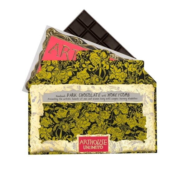Arthouse Unlimited chocolate bar
