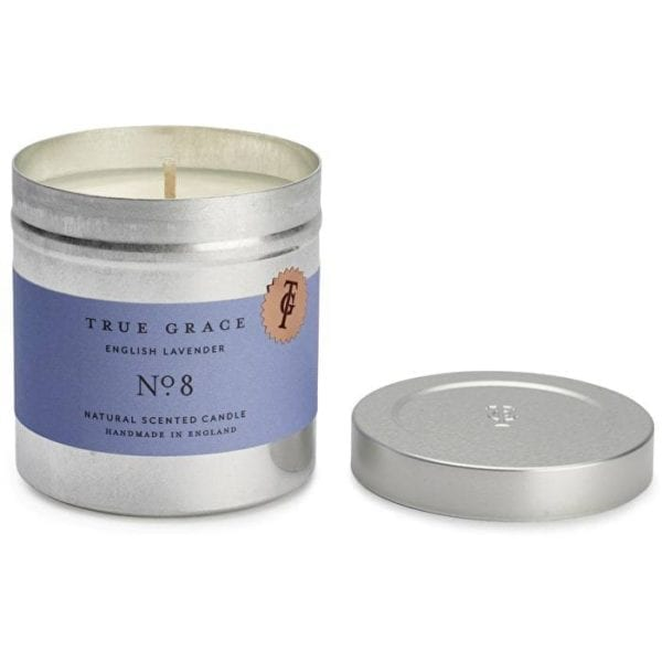 True Grace lavender scented travel candle