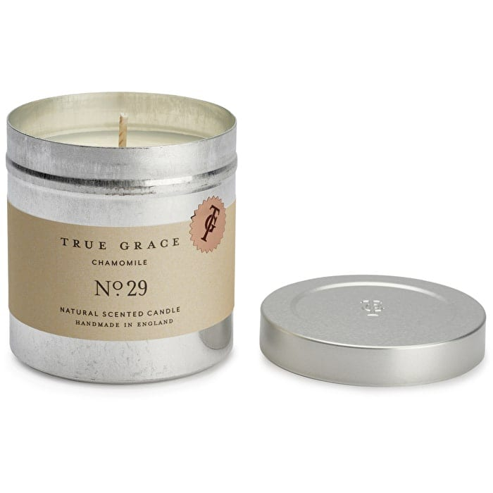 True Grace Chamomile scented travel candle