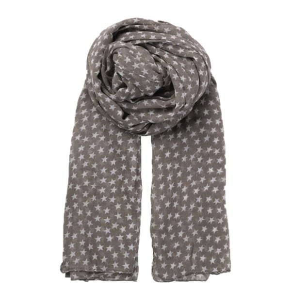 Beck Sondergaard summer star scarf mouse brown