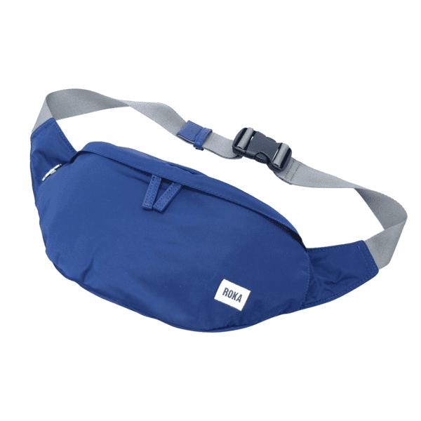 Roka Bond bum bag ink blue