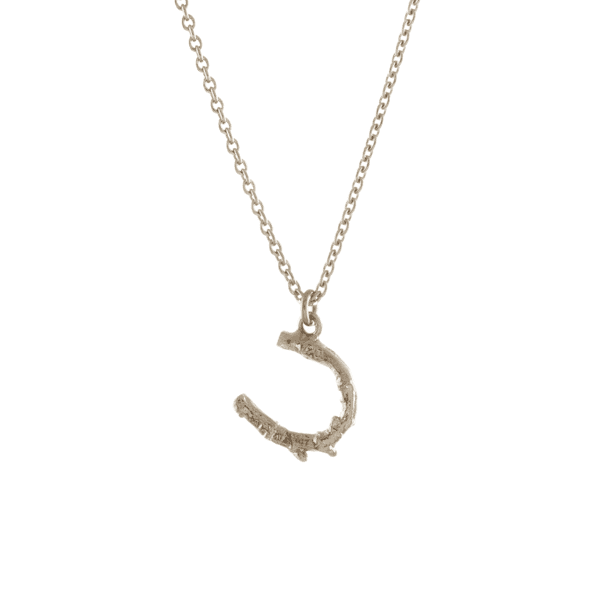 Alex Monroe horse shoe necklace