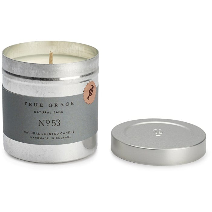 True grace walled garden natural sage scented candle