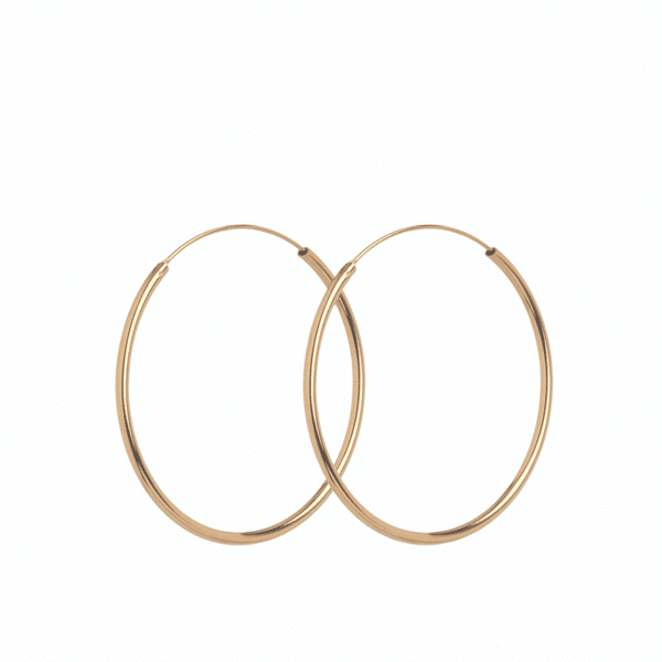 Luxury jeweller Pernille Corydon Midi Hope Earrings Gold plate