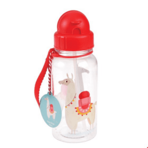 Llama Print Reusable Drinks Bottle