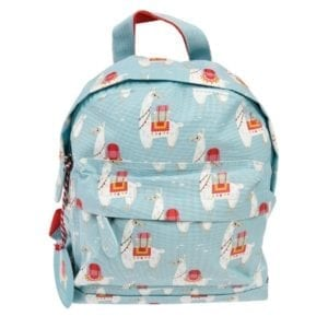 Dolly the llama children's backpack