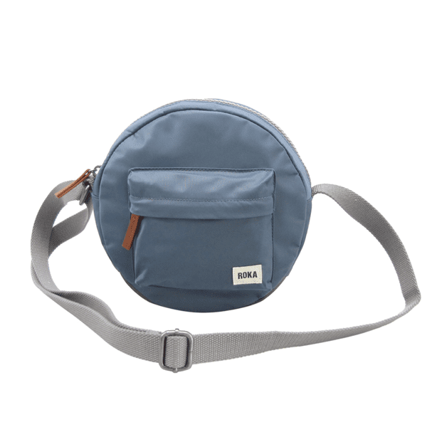 Roka Paddington Cross Body Bag Airforce blue
