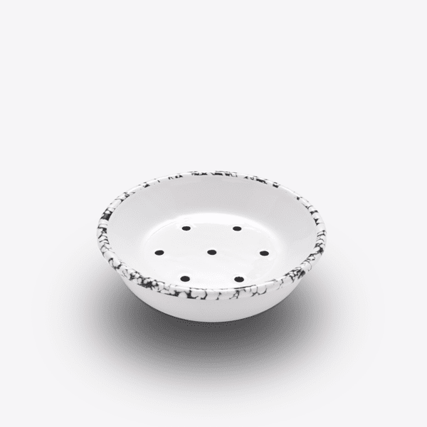 Born enamel monochrome soap dish