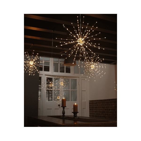 Large Mains Powered Starburst Light