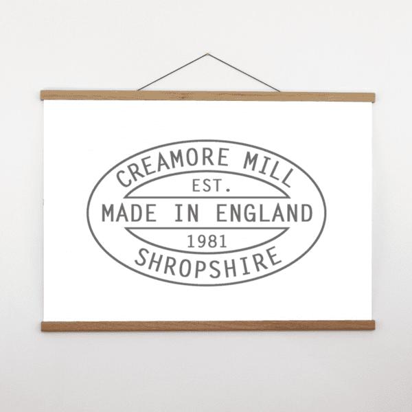 Creamore Mill Large Oak Poster Hanger