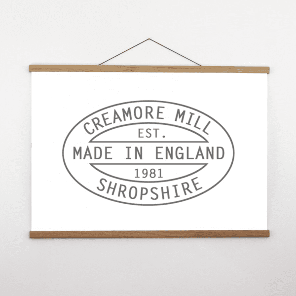 Creamore Mill Large Oak Poster Hanger