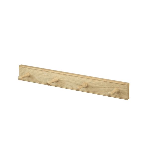 Creamore Mill 4 Peg Oak Rail