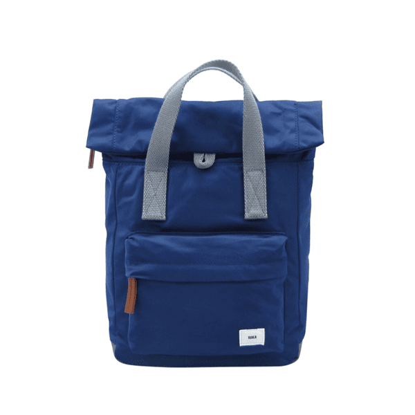Roka Small Canfield Rucksack in Ink Blue
