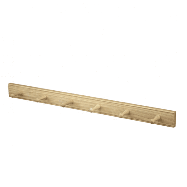 Creamore Mill 6 Peg Oak Rail