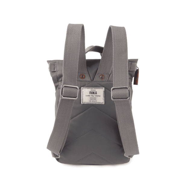 Roka Small Canfield Rucksack In Graphite grey