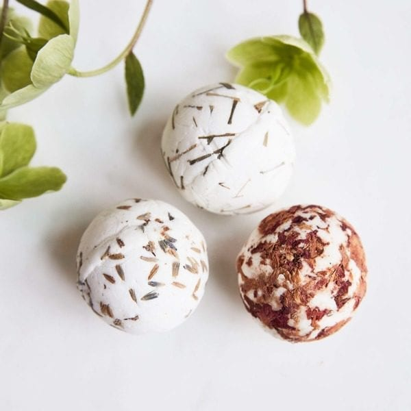 Trio of Meraki Soap Bath Bombs