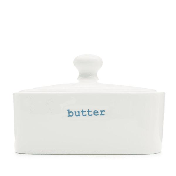 Keith Brymer Jones porcelain lidded butter dish