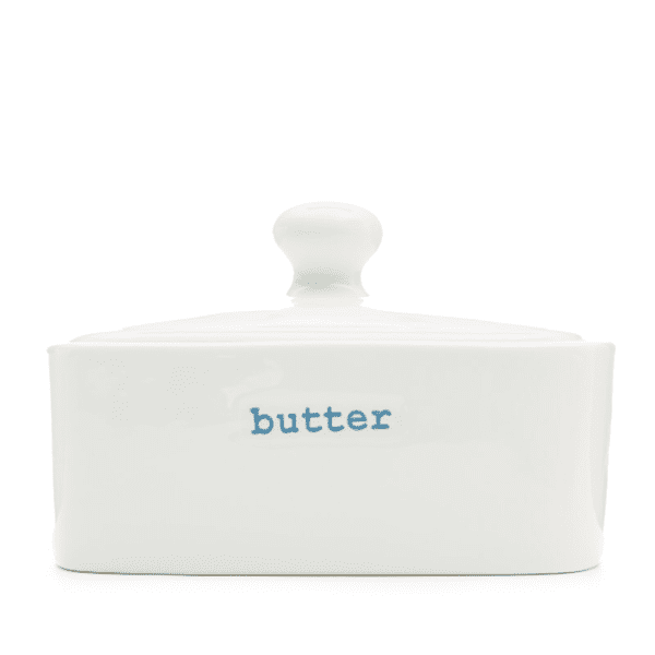 Keith Brymer Jones porcelain lidded butter dish