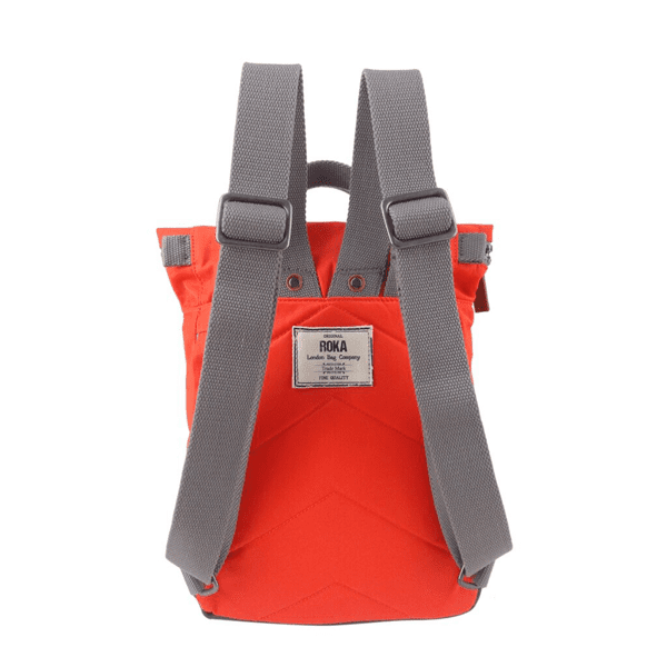 Roka Small Canfield Backpack In bright Orange
