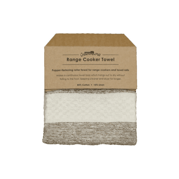 Creamore Mill Popper Range Towel in Cream