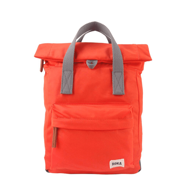 Roka Small Canfield Rucksack In orange