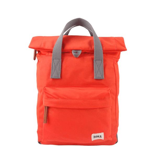 Roka Small Canfield Rucksack In orange