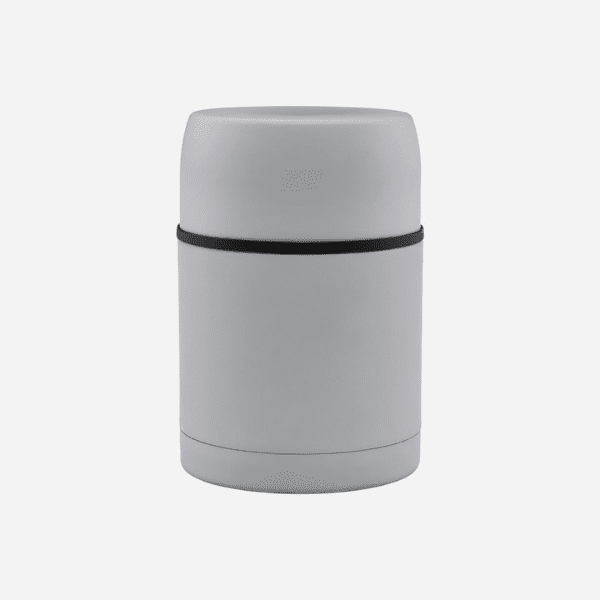 Light grey insulated lunch container